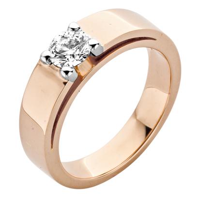 Roos1835 gouden ring