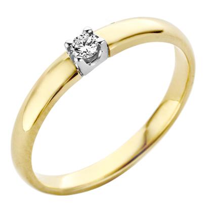 Roos1835 gouden memoire ring