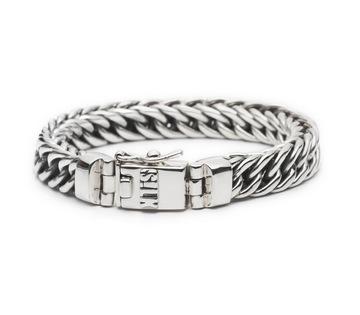 Silk zilveren armband 108 Vishnu