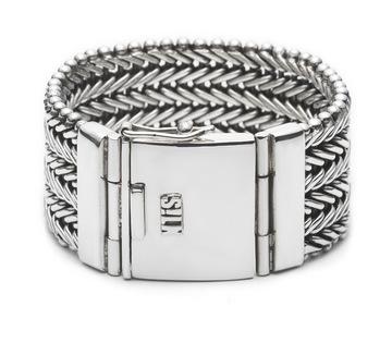 Silk armband 204 Ganesha