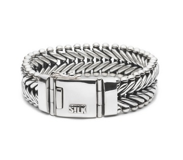 Silk armband 208 Ganesha