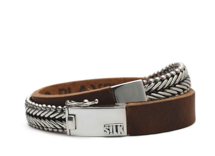Silk armband 214 Ganesha