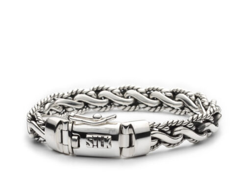 Silk armband 323 Shiva