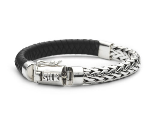 Silk armband 327 Shiva