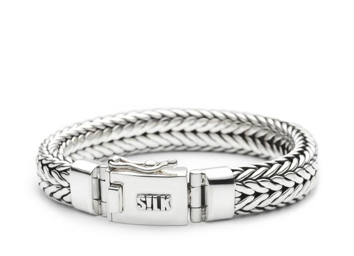 Silk armband 328 Shiva