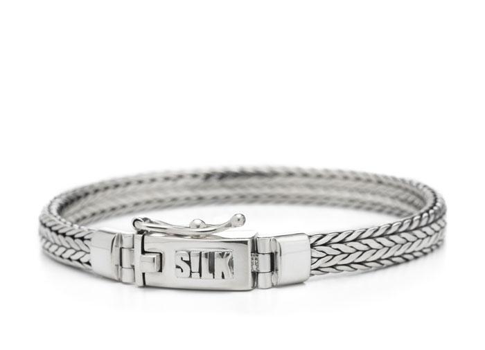 Silk armband 339 Shiva