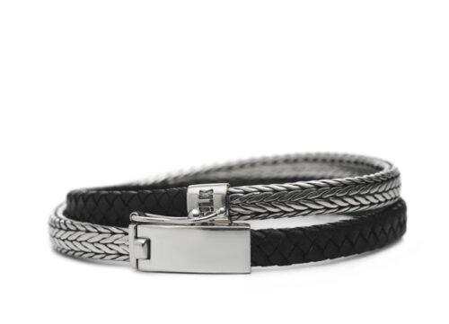 Silk armband 344 Shiva
