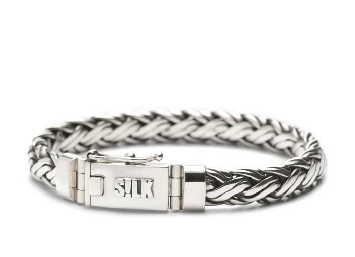 Silk armband 346 Shiva