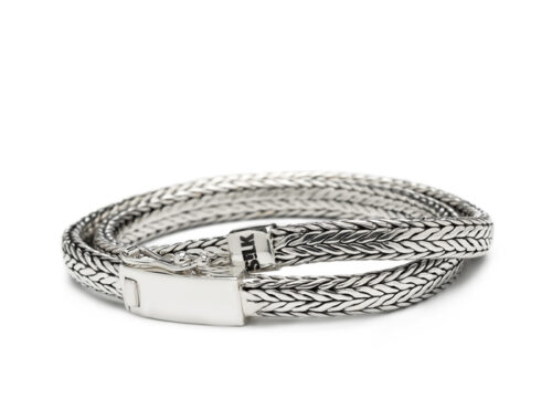Silk armband 356 Shiva