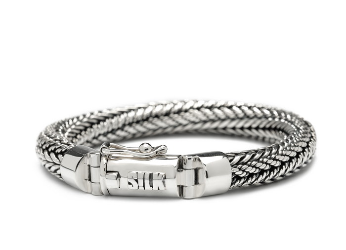Silk armband 361 Shiva