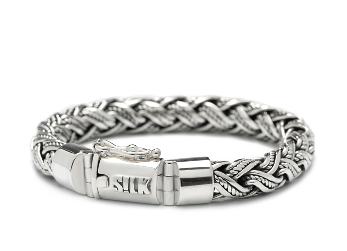 Silk armband 363 Shiva