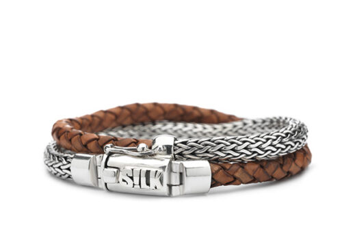 Silk armband 370 Shiva