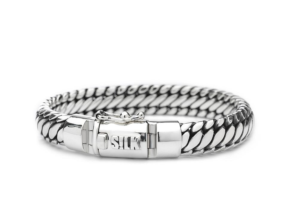 Silk armband 371 Shiva