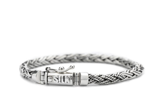 Silk armband 372 Shiva