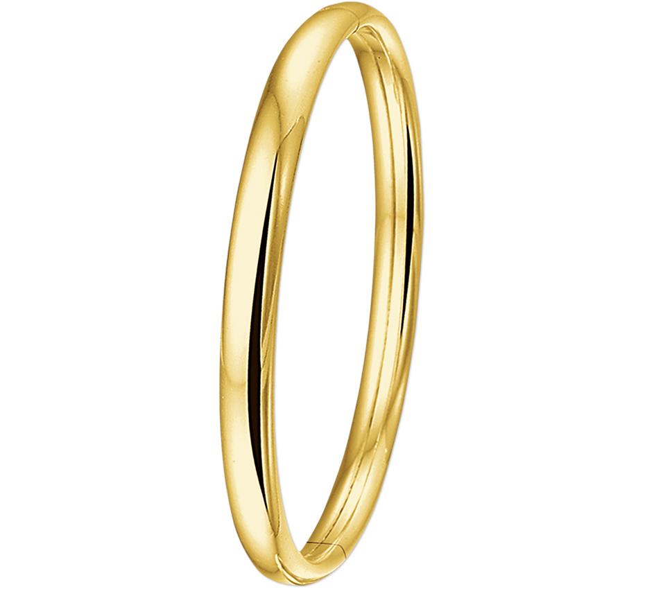 14 karaat gouden slavenband