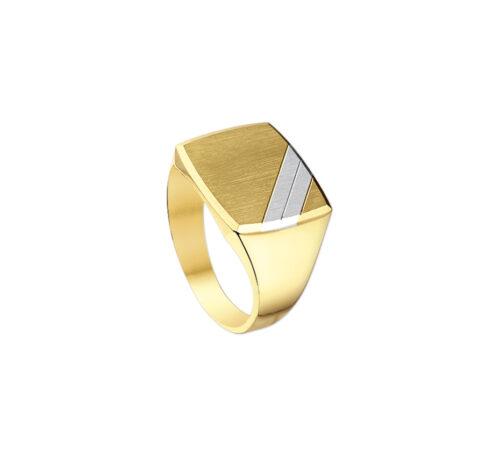 Gouden zegelring