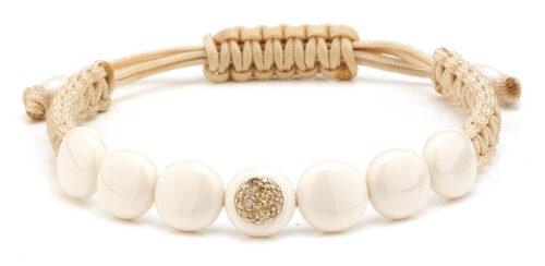 Orotech armband met rosegoud en diamant