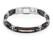Baraka armband met zwart keramiek