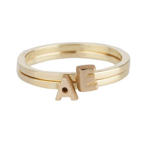 Just Franky gouden ringen