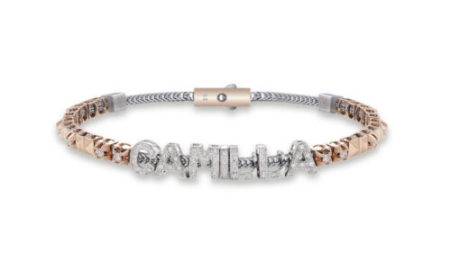 Witgouden DonnaOro armband