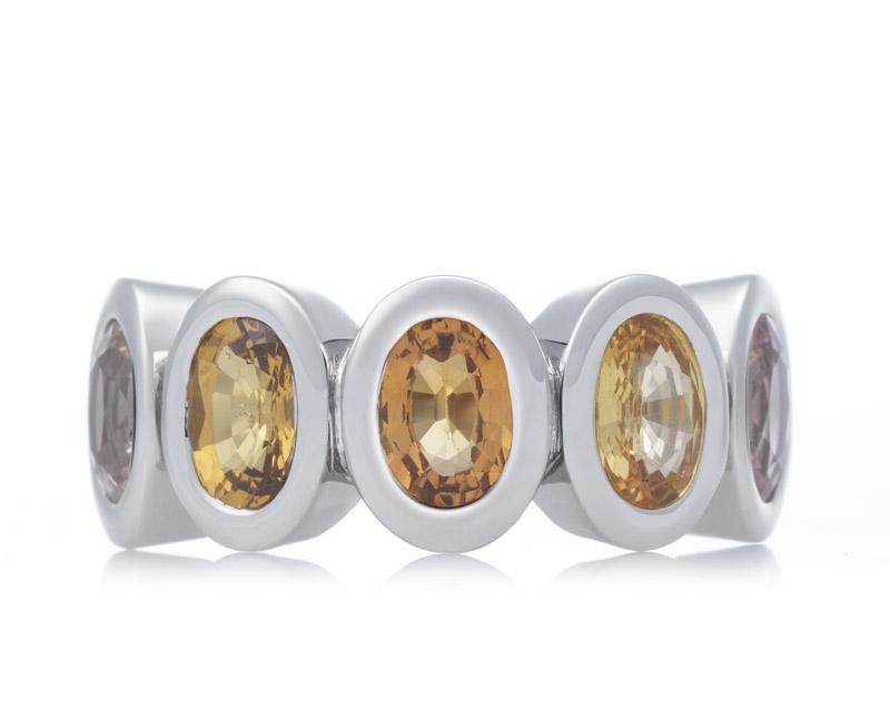 Gouden Bron ring Olivia