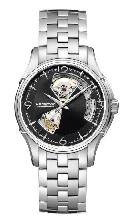 Hamilton horloge Jazzmaster Open Heart