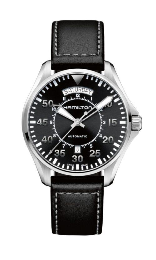 Hamilton horloge Khaki Pilot Day Date