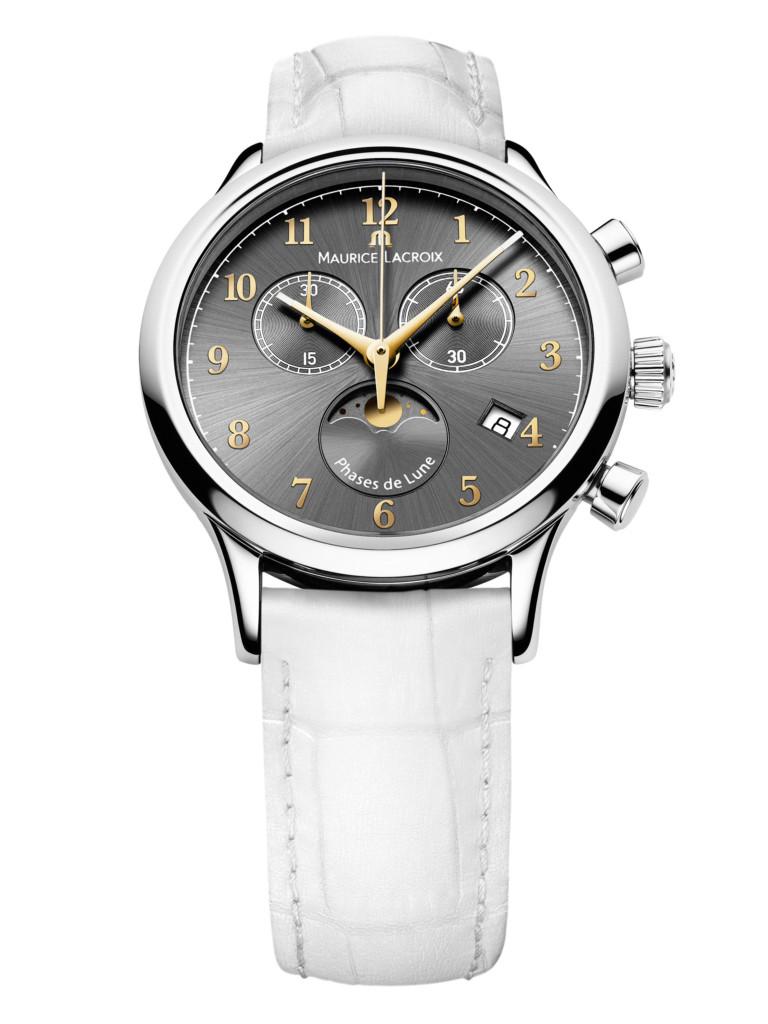 Maurice lacroix horloge Les Classiques Phases de Lune Ladies