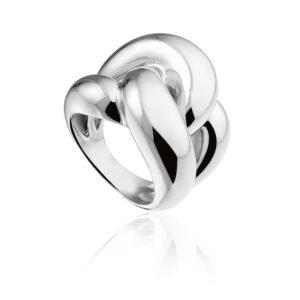 Zilveren ring van Monzario