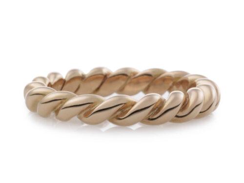 Gouden Bron ring Stax