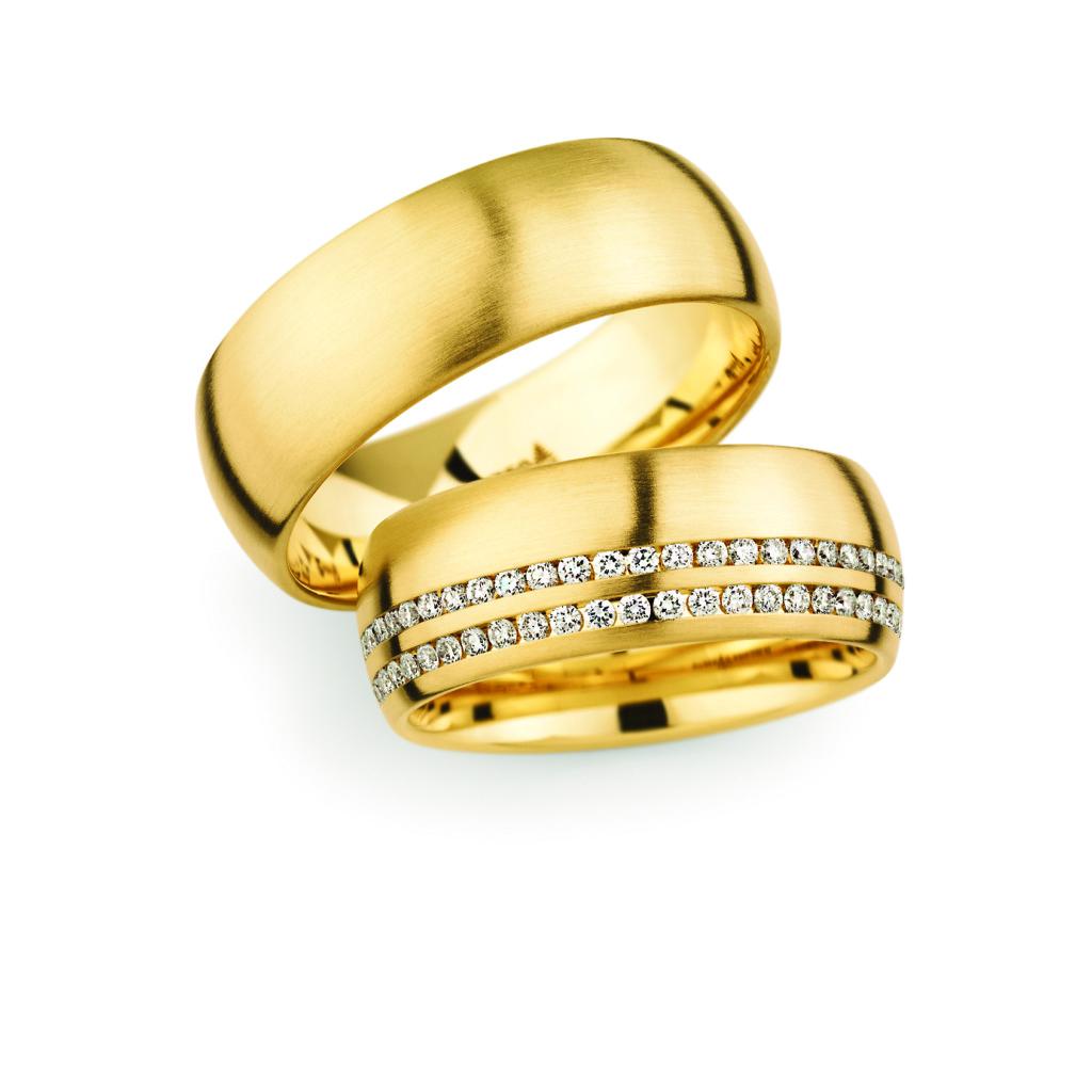 Christian Bauer trouwringen