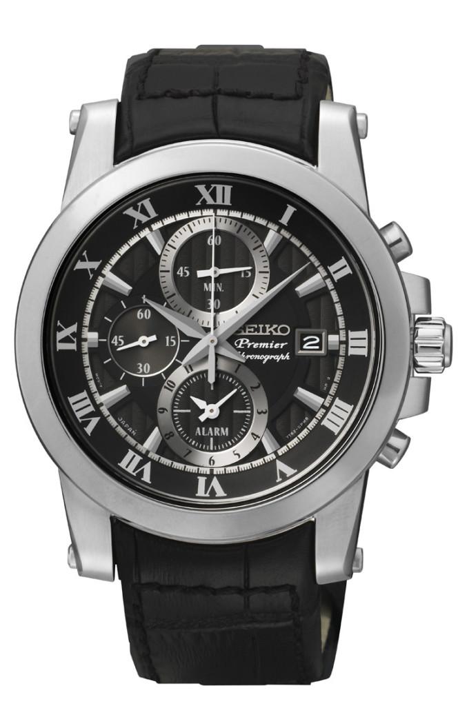 Seiko horloge Premier SNAF31P2