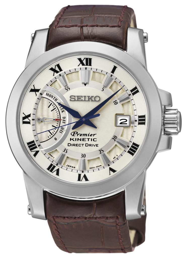 Seiko horloge Premier SRG013P1