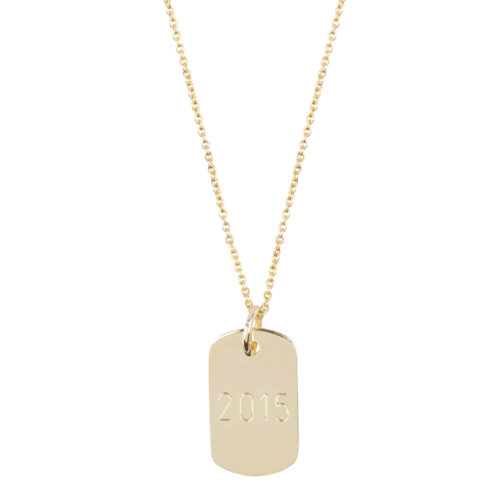 Gouden collier Just Franky