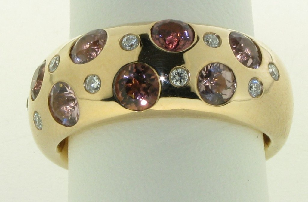 Top aanbieding rosegouden Bron ring