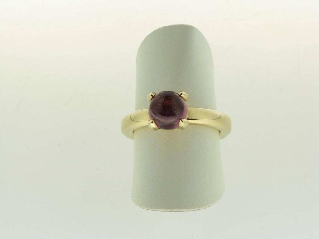 Bron aanbieding geelgouden ring
