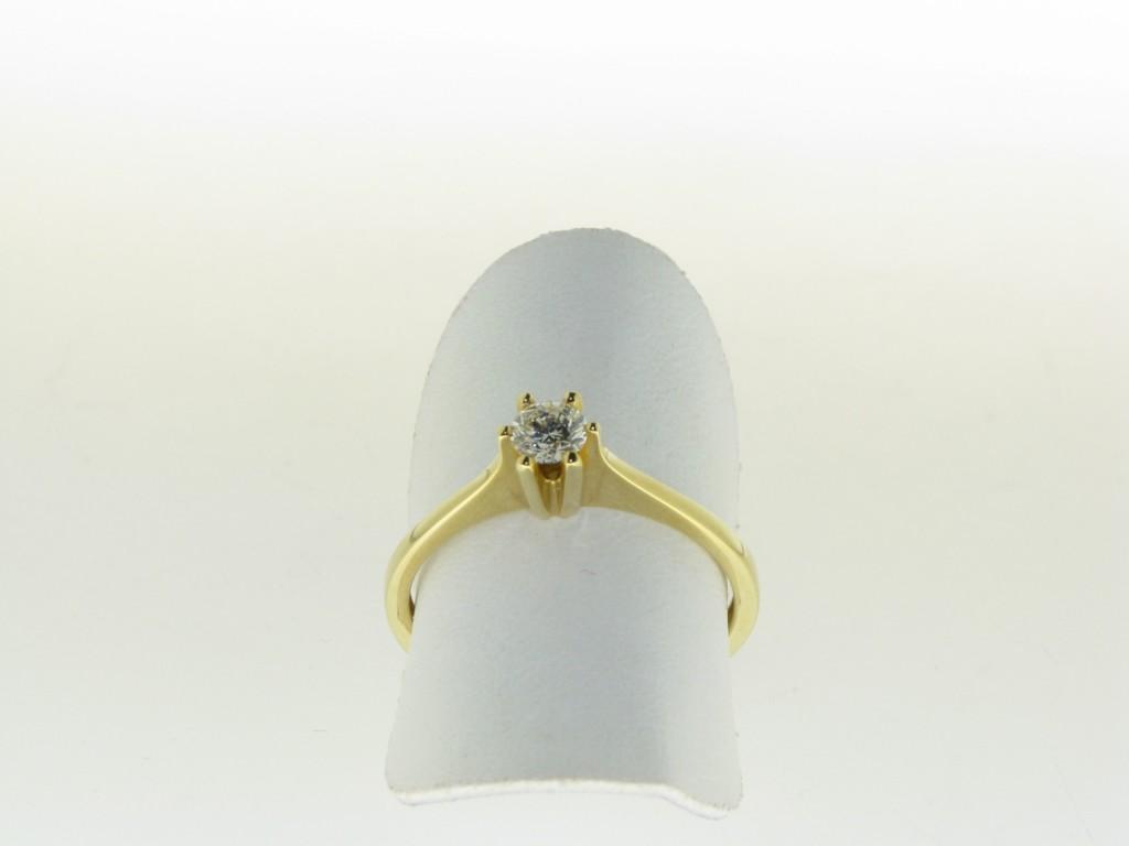 Top aanbieding geelgouden ring