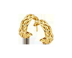 Gouden sieraden zonder diamant