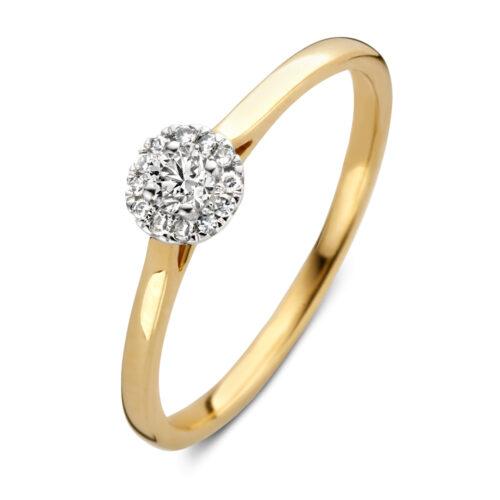 ringen met briljant