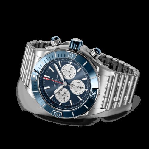 AB0136161C1A1 Breitling Super Chronomat B01 44