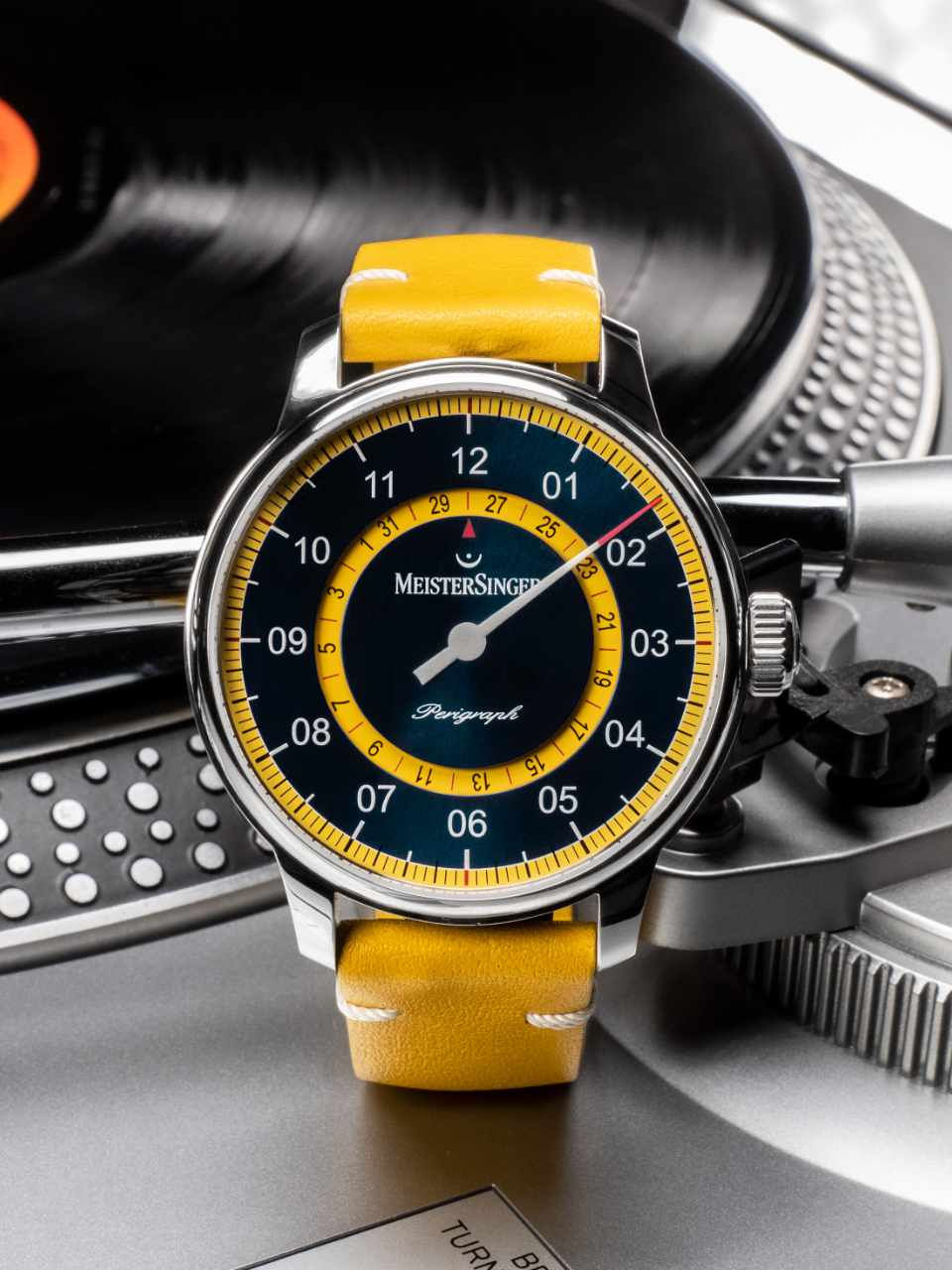Meistersinger Perigraph Mellow Yellow S-AM1025